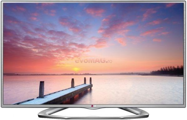 Televizor LED LG 42LA6130, Full HD, 3D, MCI 100, Triple XD Engine, Dual Play, MHL, Simplink