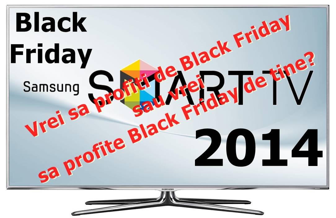 Oferte Televizoare Black Friday