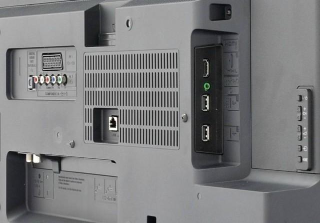 Conectori Televizor Smart LED Sony, 102cm, Full HD, 40W605