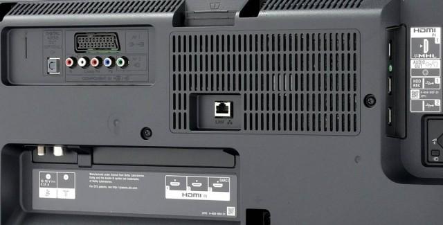 Conectori Televizor Smart LED Sony, 107cm, Full HD, 42W705