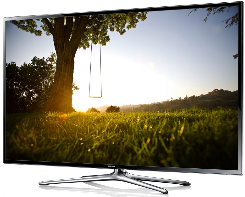 Vedere semiprofil Televizor Smart 3D LED Samsung 40F6400 101 cm, full HD