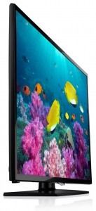 Televizor LED Smart Full HD Samsung 42F5300, 107 cm - semiprofil dreapta