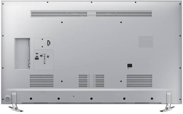 Conectiori (spate) Televizor Smart 3D LED Samsung 40H6410, 101 cm, Full HD, Alb