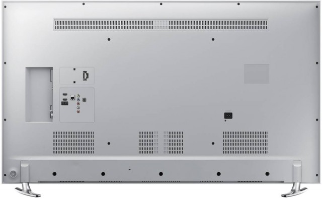 Spate - conectori Televizor Smart 3D LED Samsung 48H6410, 121 cm, Full HD, Alb
