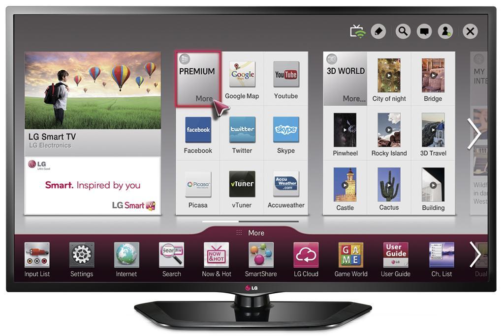 Televizor Smart TV Full DH LG 42LN570S