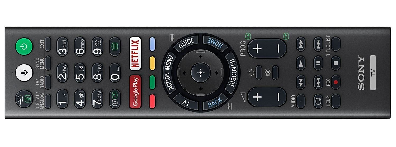 Detaliu telecomanda Sony 40WE660 prezentata in magazine