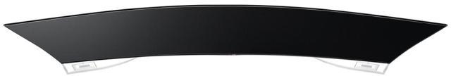 Televizor Curbat OLED Smart 3D LG 55EA980V vedere de sus
