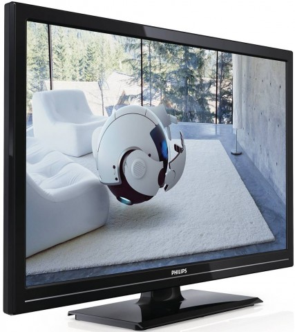 Semiprofil Televizor LED Philips, 56 cm, Full HD, 22PFL2908