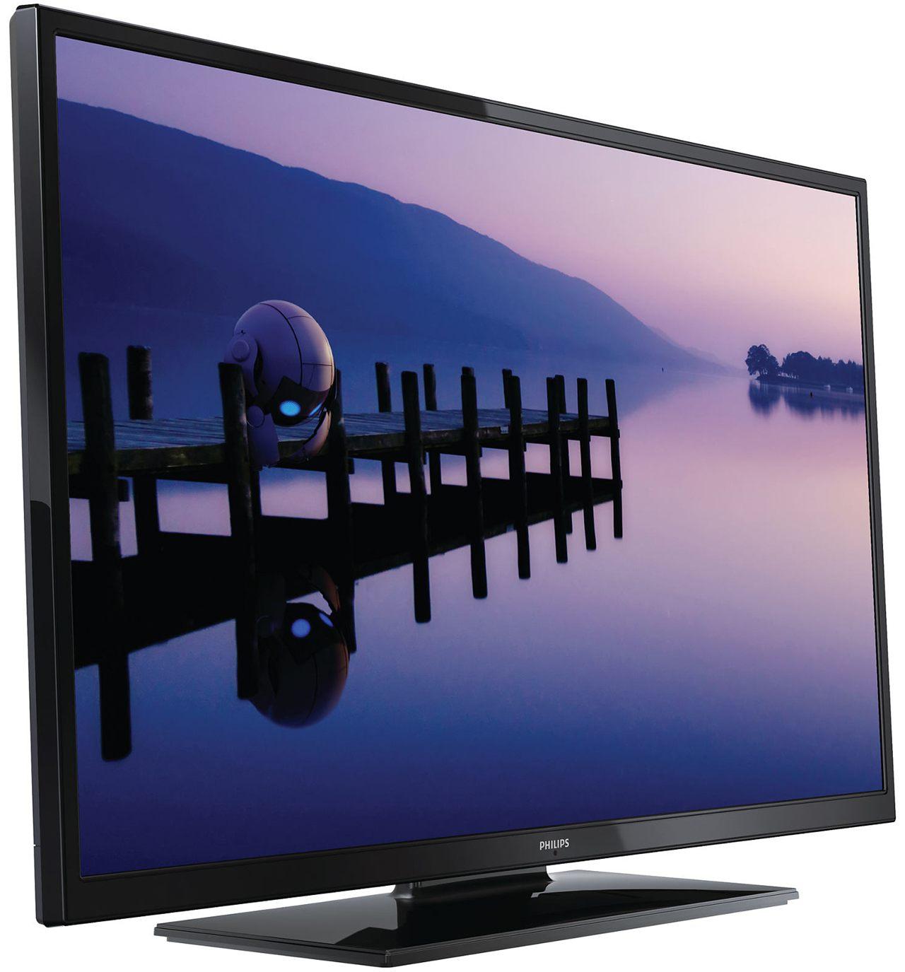 Televizor LED Philips 40PFL3008, 102 cm, Full HD - profil