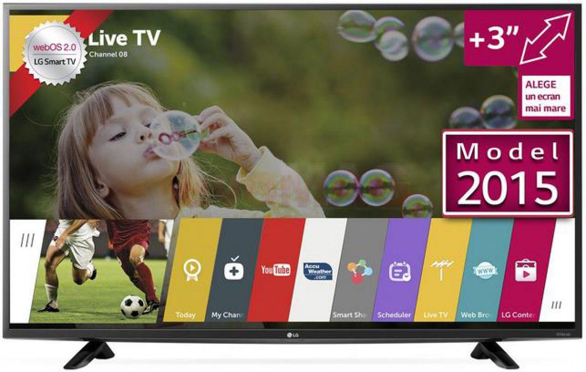 Specificatii pret si pareri televizor LG 43UF6407
