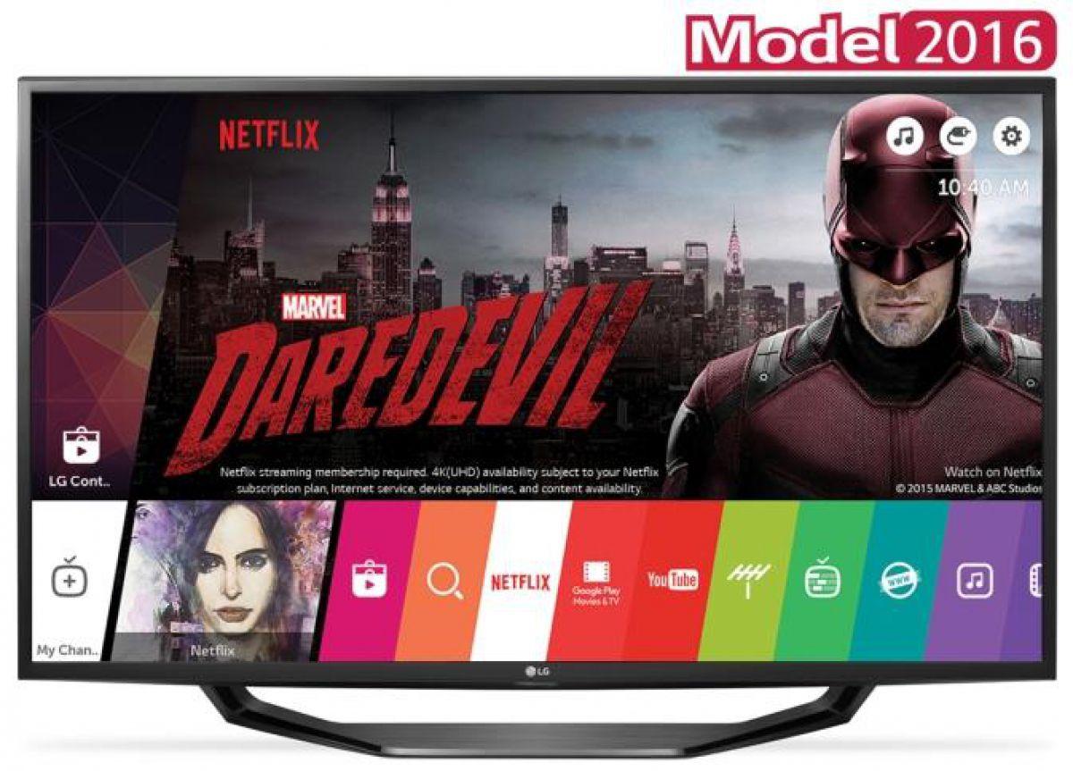 Televizor LG 43UH6207