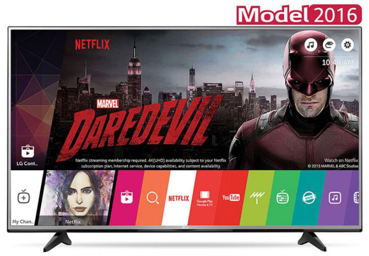 Televizor LG 55UH6157