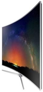 Semiprofil stanga Televizor LED Curbat Smart 3D Samsung, Ultra HD, 78JS9500