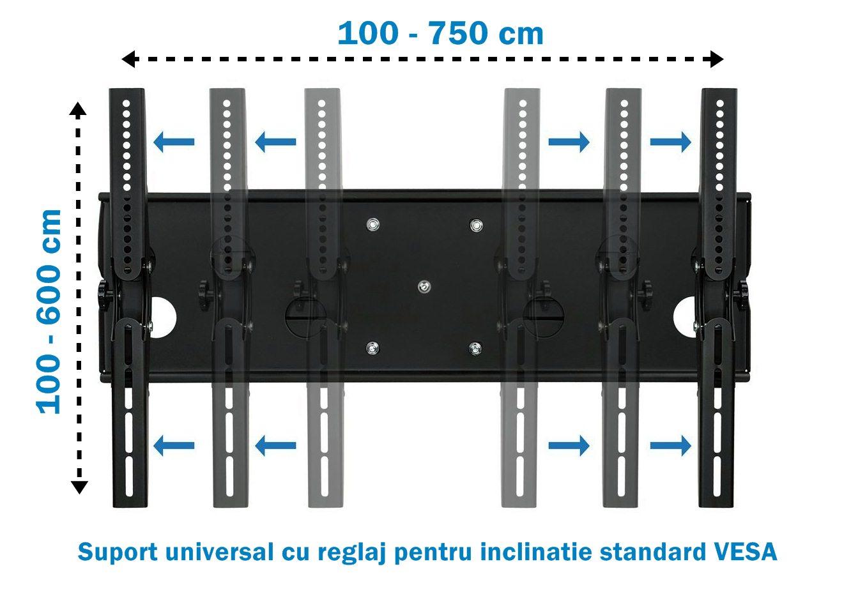 Suport TV pentru perete universal standard VESA
