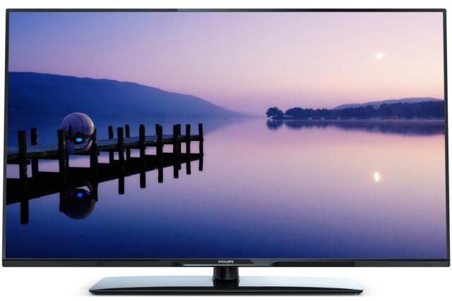 Televizor LED Philips, 127 cm, Full HD, xxPFL3088 vedere din fata