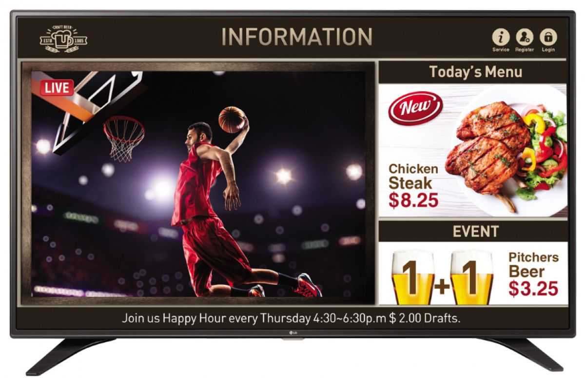 Televizor LG 49LW540S