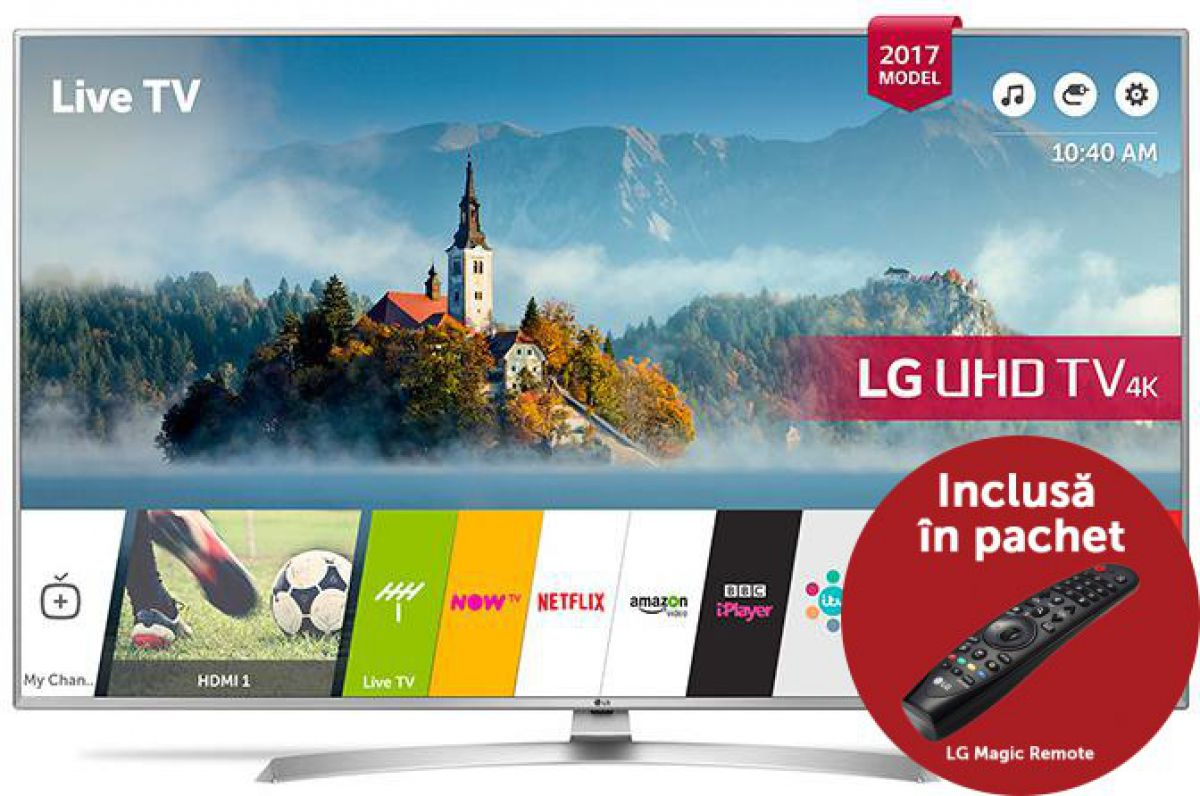 Televizor LG 49UJ701V